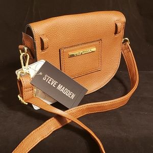 Steve Madden Brown Leather Convertible bag. NEW!